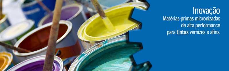 Matérias-Primas para Indústrias de Tintas
